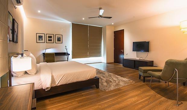Villa bed room in Bangalore-1