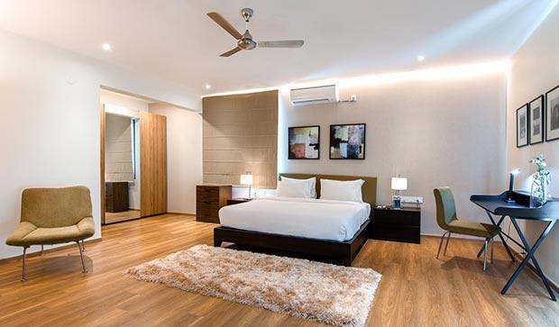 Villa bed room in Bangalore