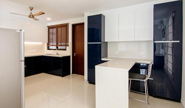 Villa kitchen in Bangalore