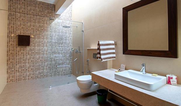 Villa wash room in Bangalore